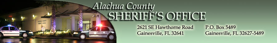 Alachua County Sheriff's Office Image
